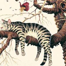 cat-on-branch