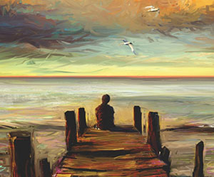 pier-alone